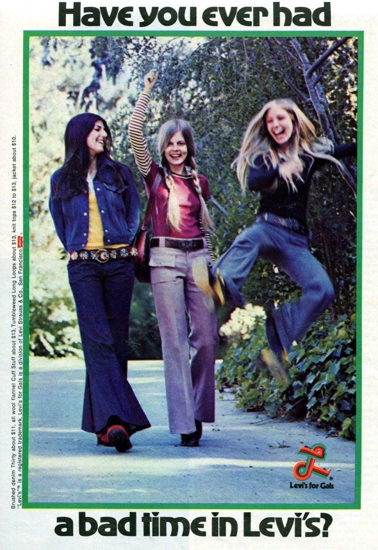 Levis 1972 fashion