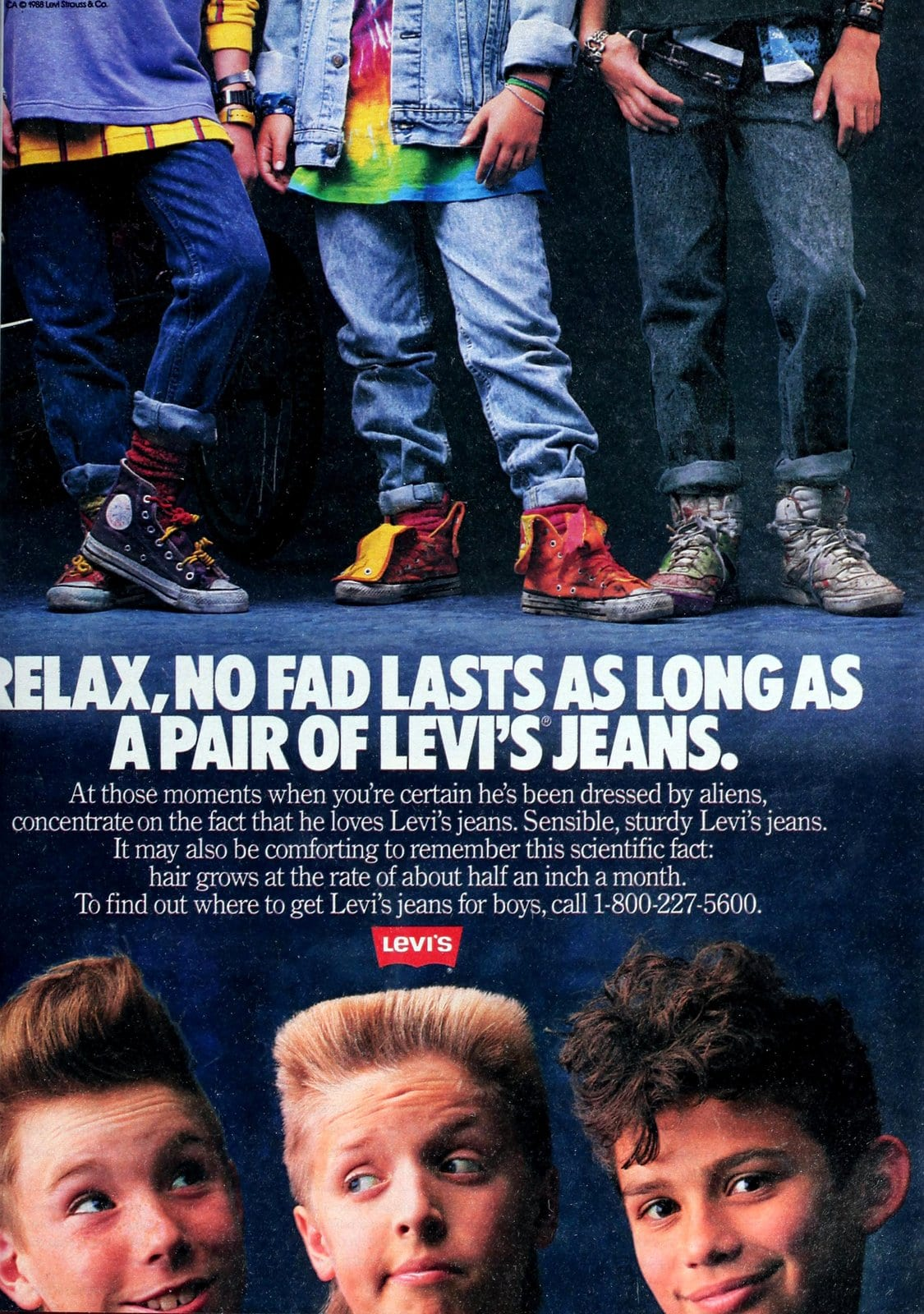 Levi's jeans for kids (1988)