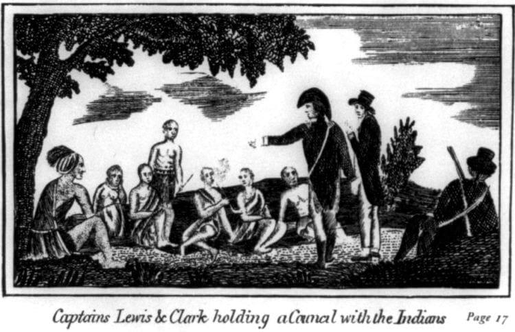 Lewis and Clark open vast region