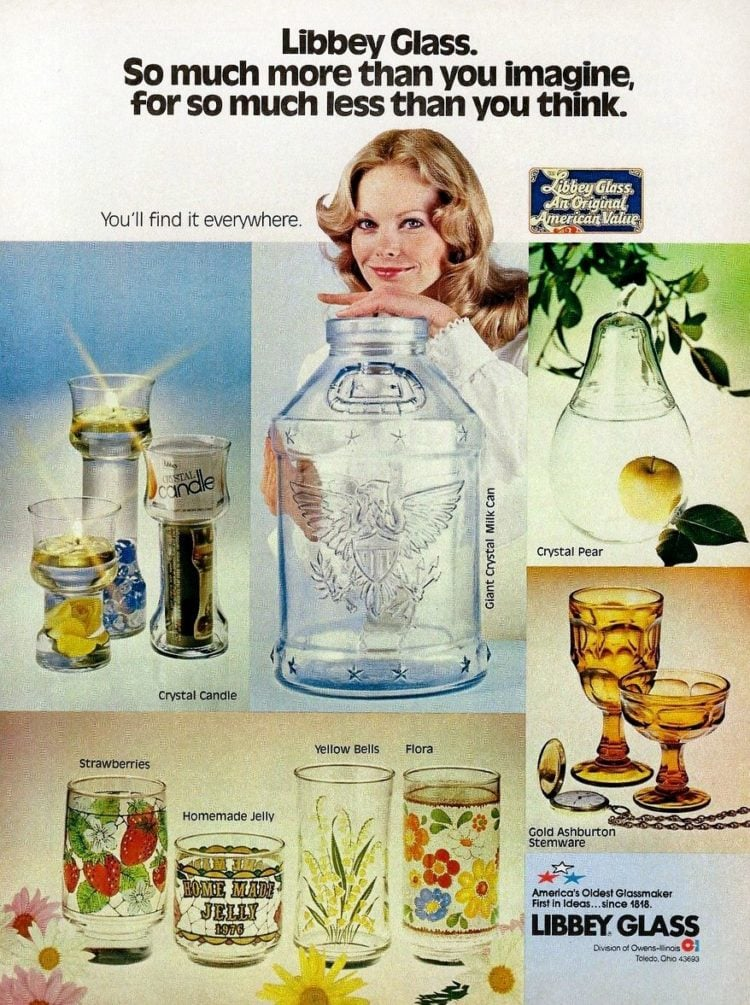 Libbey Glass - Tumblers and drinking glasses - 1976
