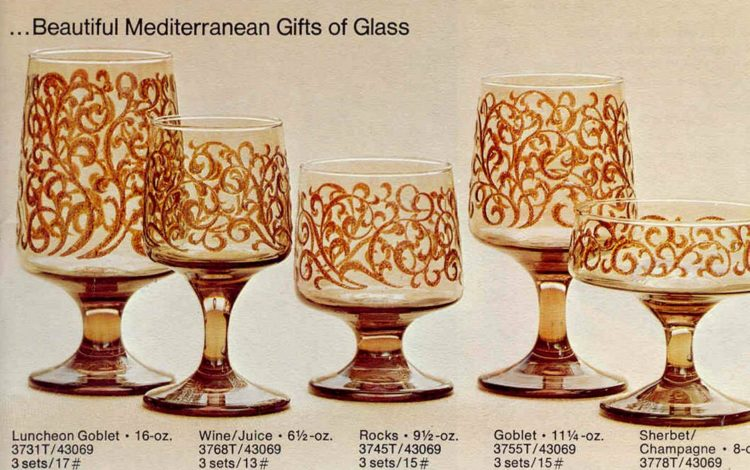 Libbey Glass from 1975