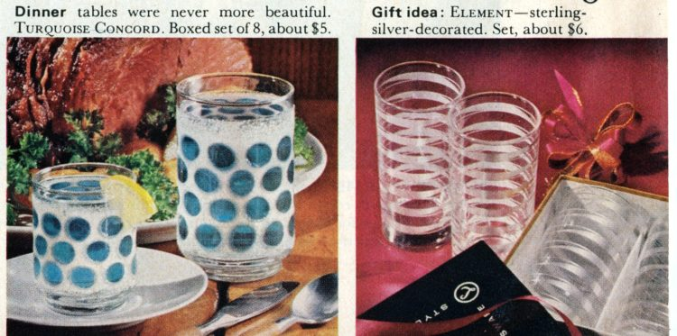 Libbey Glassware from 1964 (1)