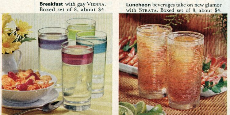 Libbey Glassware from 1964 (2)