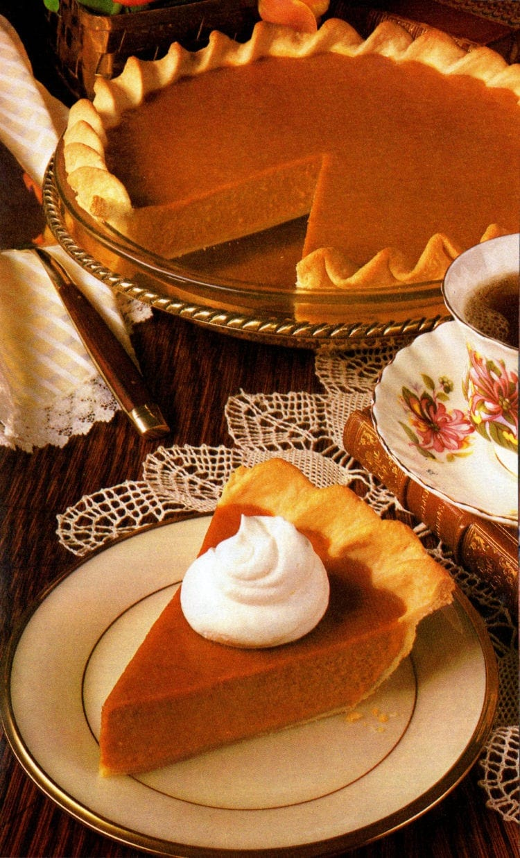 Libby's pumpkin pie - classic recipe