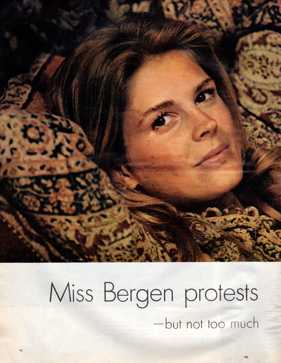 Life magazine - Activist actress Candice Bergen (July 24, 1970) (1)
