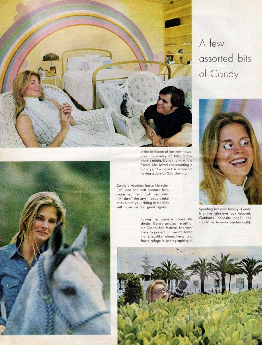 Life magazine - Activist actress Candice Bergen (July 24, 1970) (2)