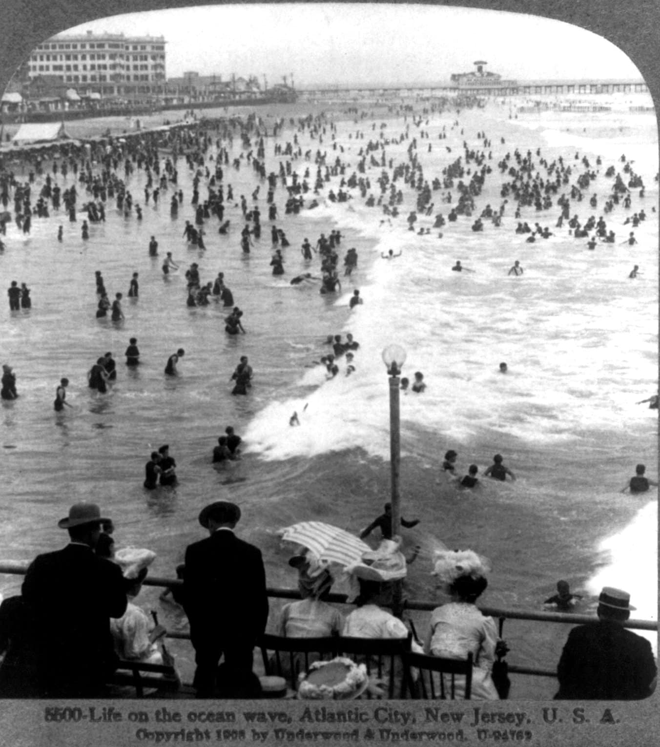 Life on the ocean wave, Atlantic City - early 1900s