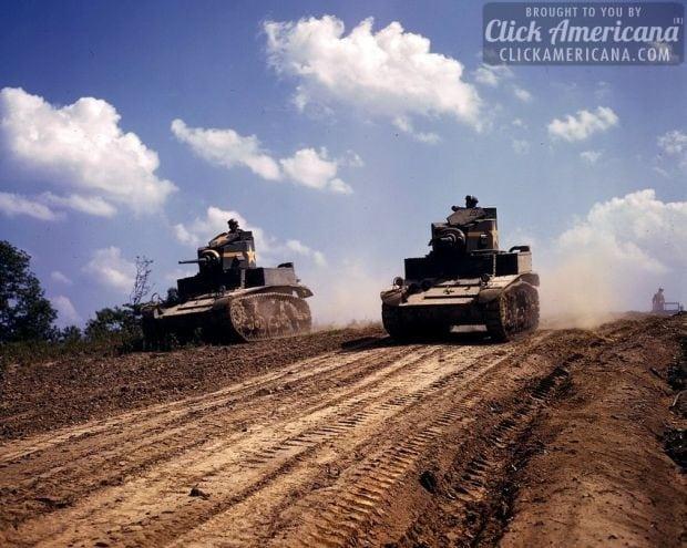 Light tanks, Fort Knox, Ky