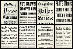 Like old-fashioned fonts See dozens of vintage typefaces