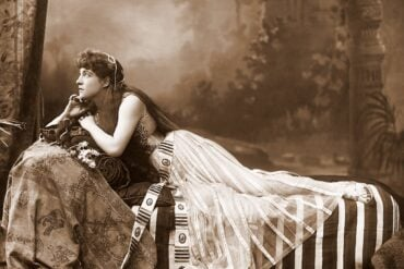 Lillie Langtry on stage