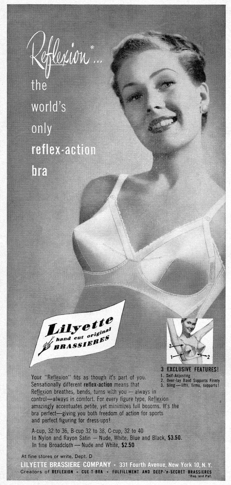 Lilyette Reflexion bra from 1950