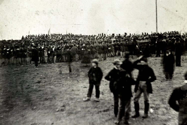 Abraham Lincoln's speech, the Gettysburg Address