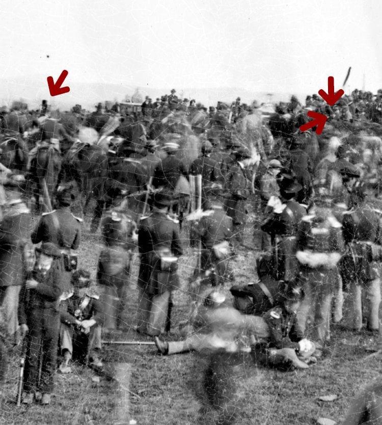 Abraham Lincoln's speech at Gettysburg cemetery