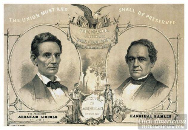 Abraham Lincoln S Campaign Materials 1860 Click Americana