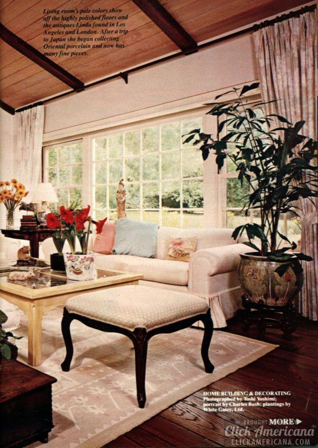 Inside Linda Evans Beverly Hills Home 1982 Click