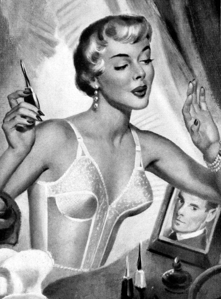 Lingerie girdles bras from 1950 (1)