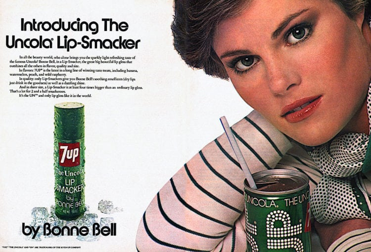 Retro Lip Smackers 7-Up flavor 1976