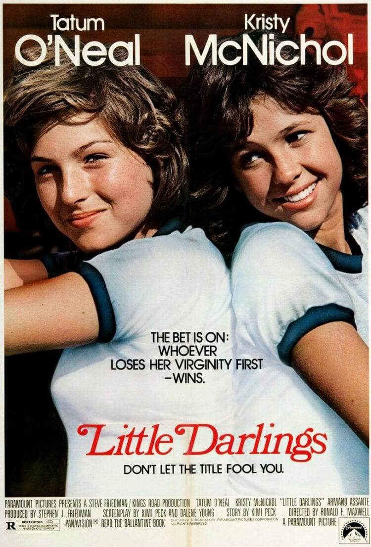 Little Darlings movie Tatum O'Neal and Kristy McNichol