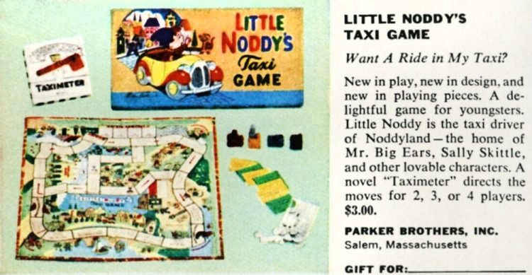 Little Noddy's taxi game