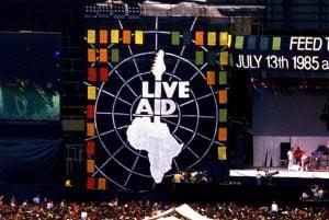 Live Aid concert 1985