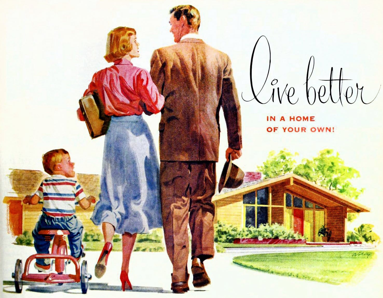 Live better in a home of your own (1958)