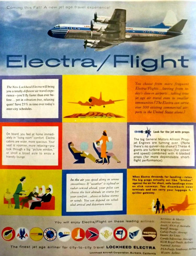 Lockheed Electra June 28 1958