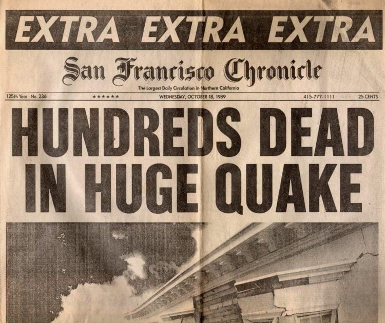 Loma Prieta earthquake - San Francisco Chronicle 1989 (12)