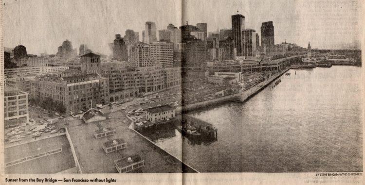 Loma Prieta earthquake - San Francisco Chronicle 1989 (9)