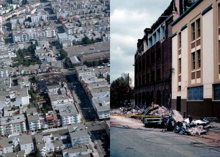 Loma Prieta earthquake buildings collapsed