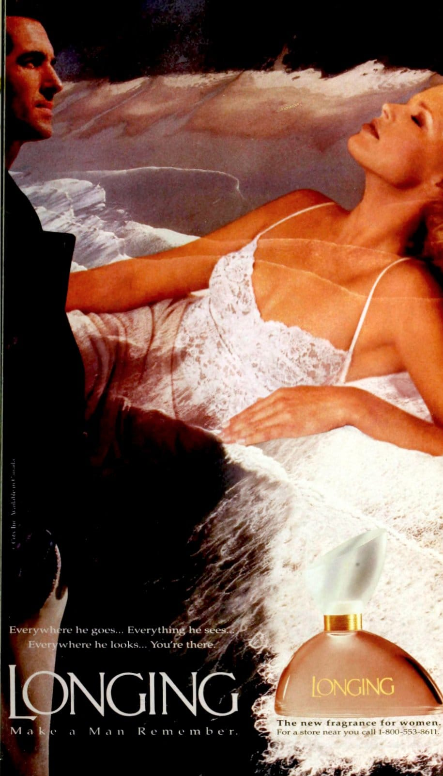 Popular vintage perfumes from the '90s - Longing from Coty (1994) at ClickAmericana.com