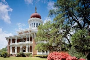 Longwood Plantation in spring, Natchez, Mississippi