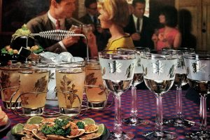 Look back at 26 Libbey drinking glass designs from the sixties