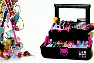 Look back at Caboodles, Sassaby and other retro beauty organizers from the '80s and '90s