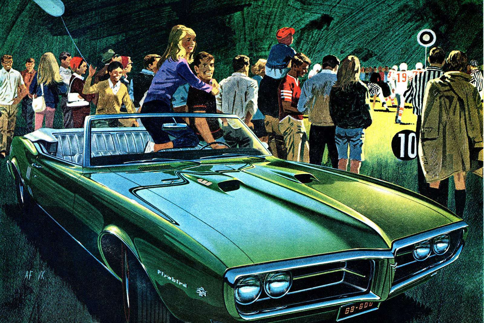 Take A Look Back At These Classic Cars With Wide Track 1968 Pontiac Gto Cars Click Americana
