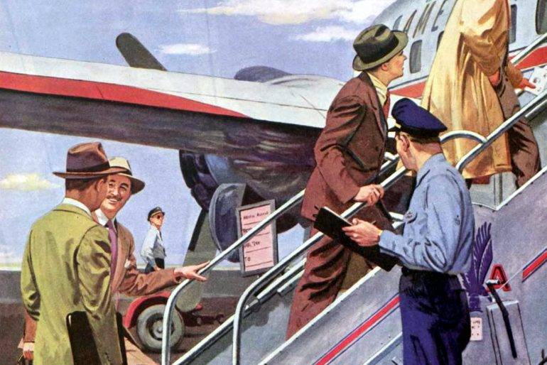 Look back at the early days of American Airlines