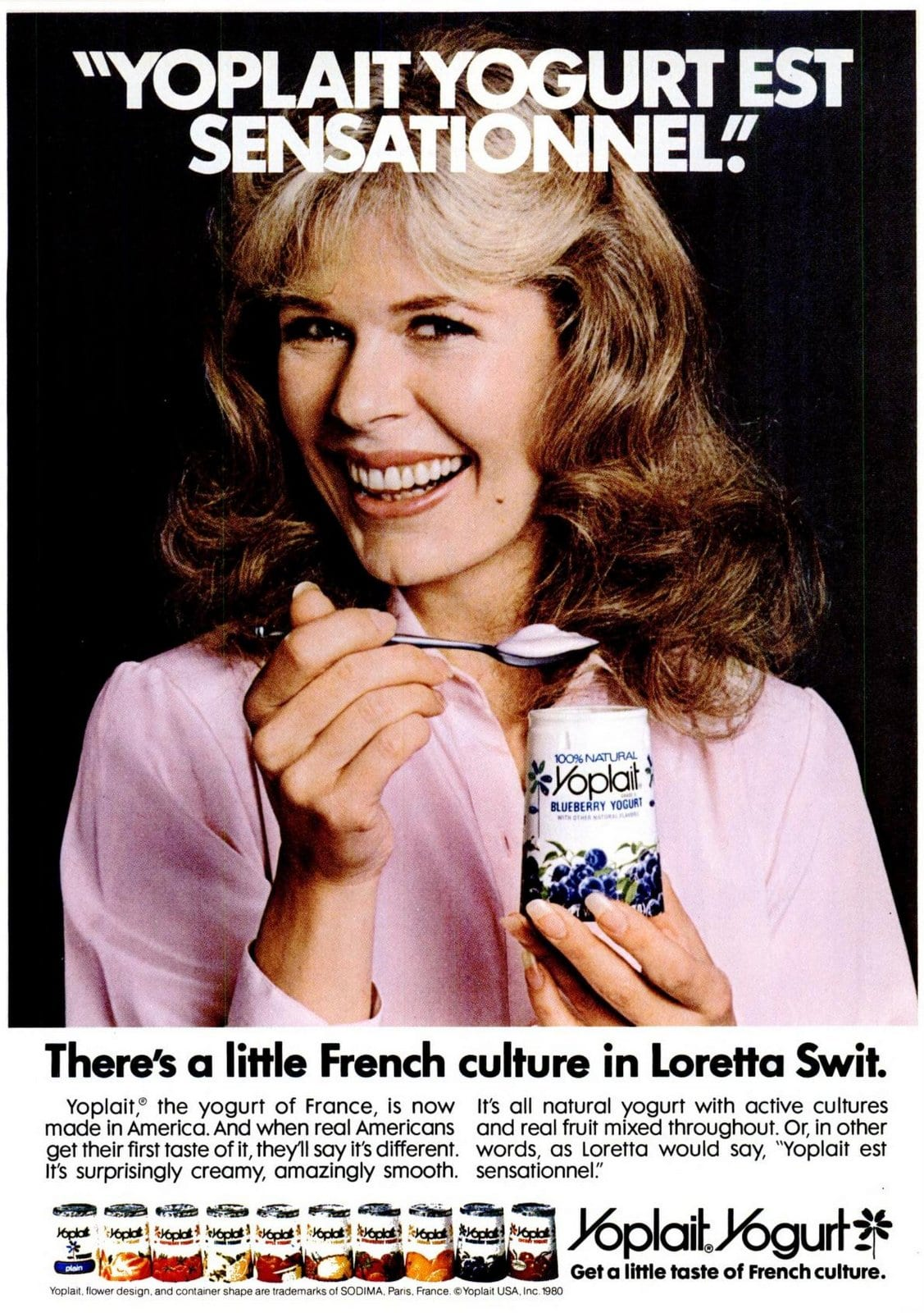 Loretta Swit for Yoplait Yogurt (1981)
