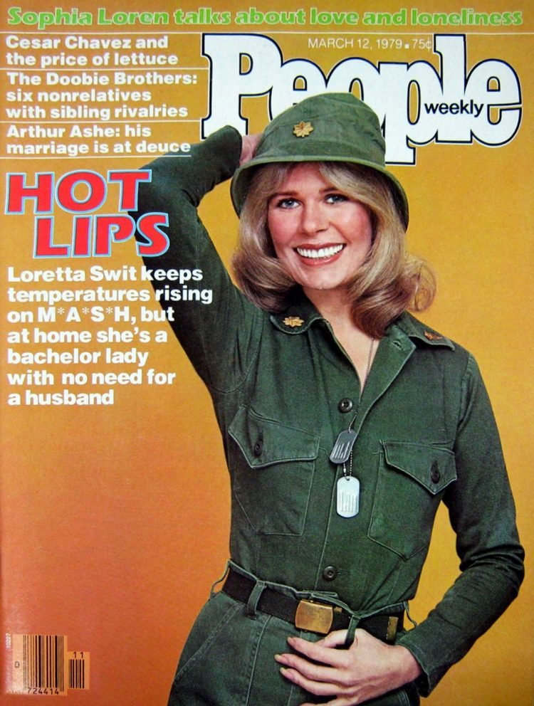 Loretta Swit on People magazine cover