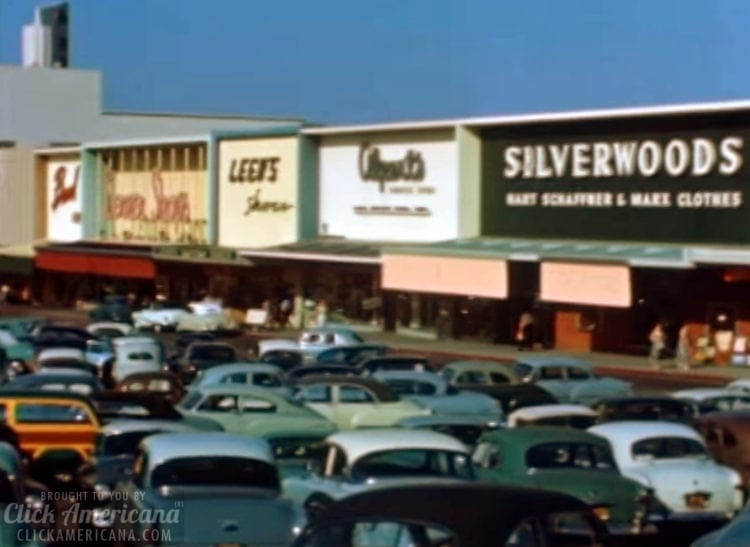 Los Angeles in the '50s