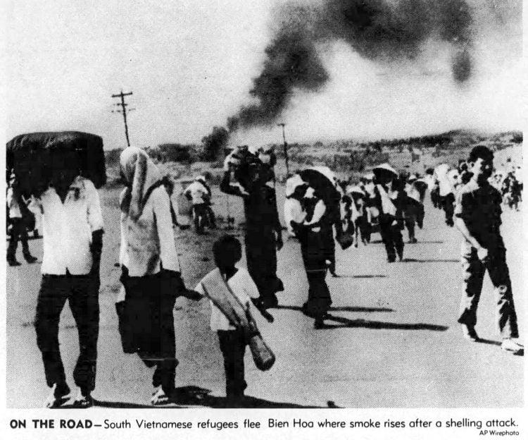 Los Angeles Times April 30 1975 - Vietnam war ends
