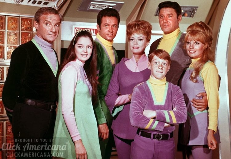 Lost in Space cast - 1960s