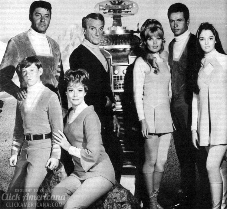 Lost in Space cast 1966