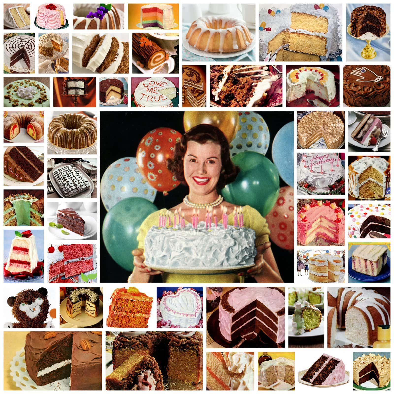 Lots of vintage cake recipes for every occasion
