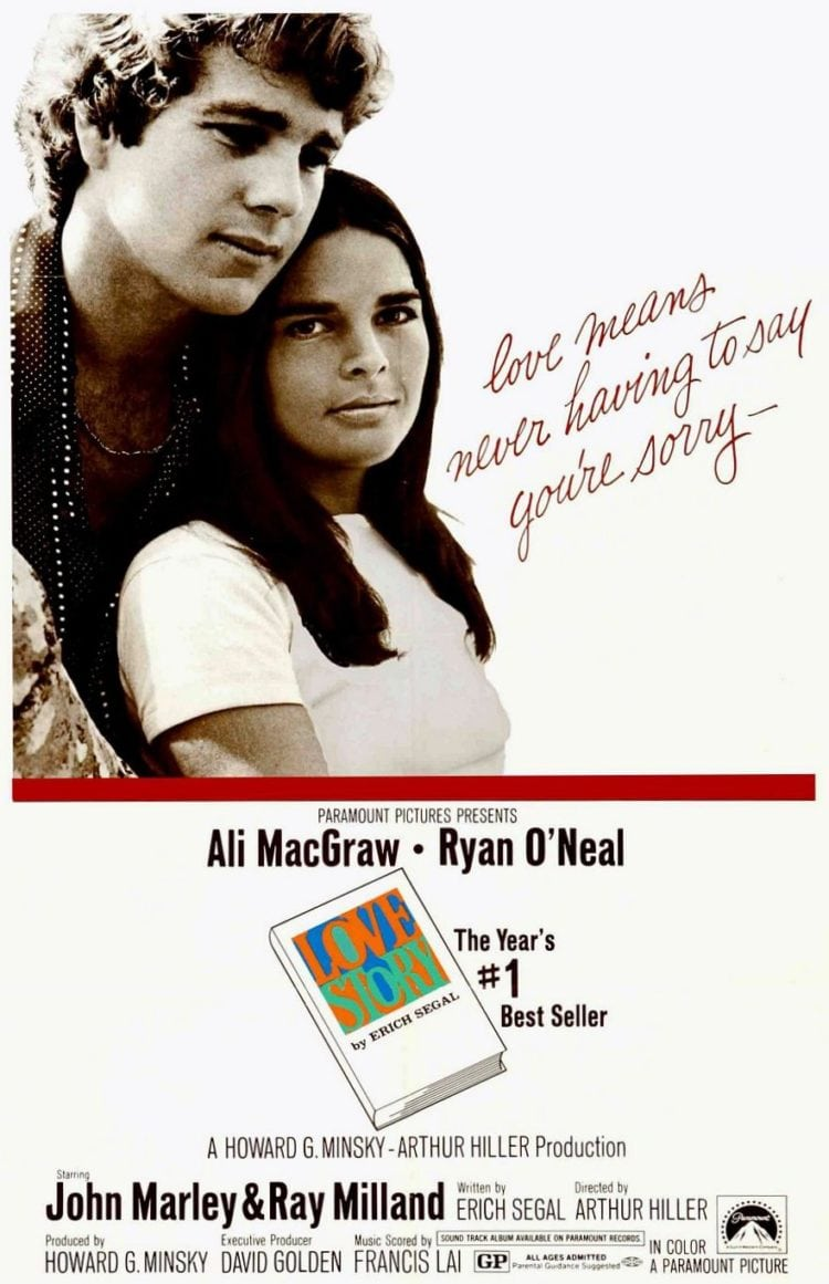 Love Story movie 1970