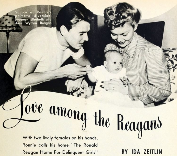 Love among the Reagans Life with Ronald Reagan in 1942