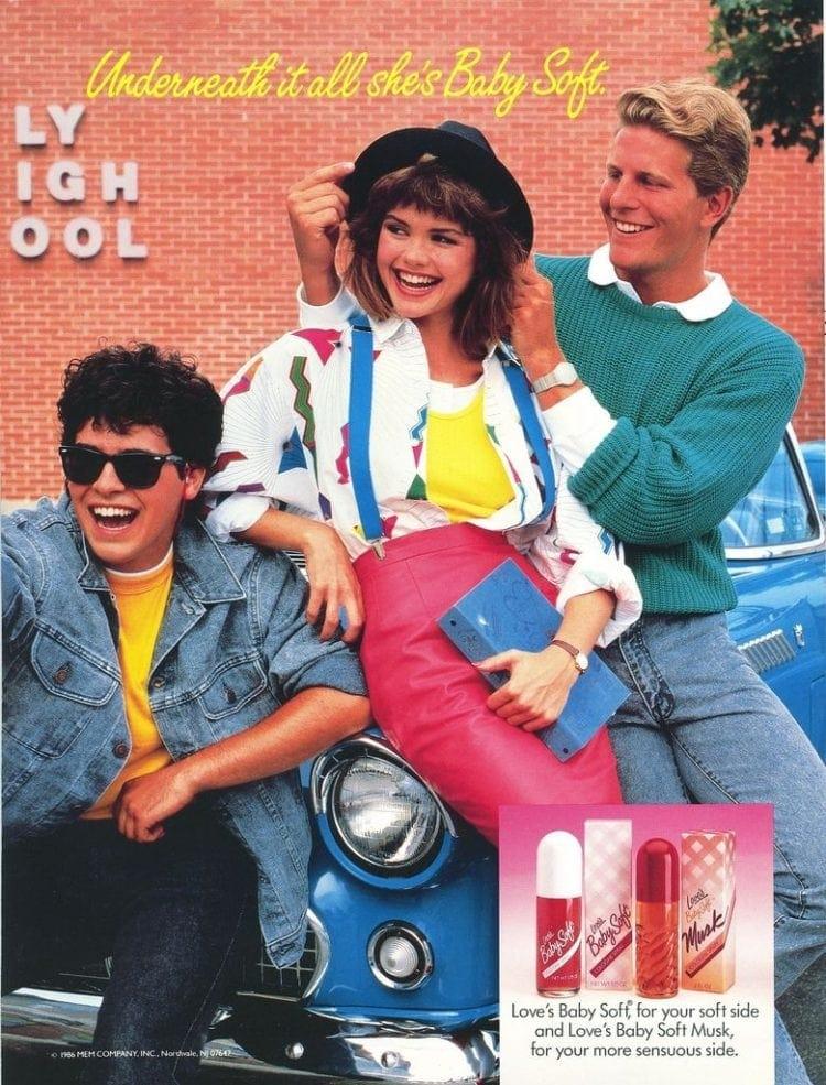 Love's Baby Soft ads - 1986 1987 1988