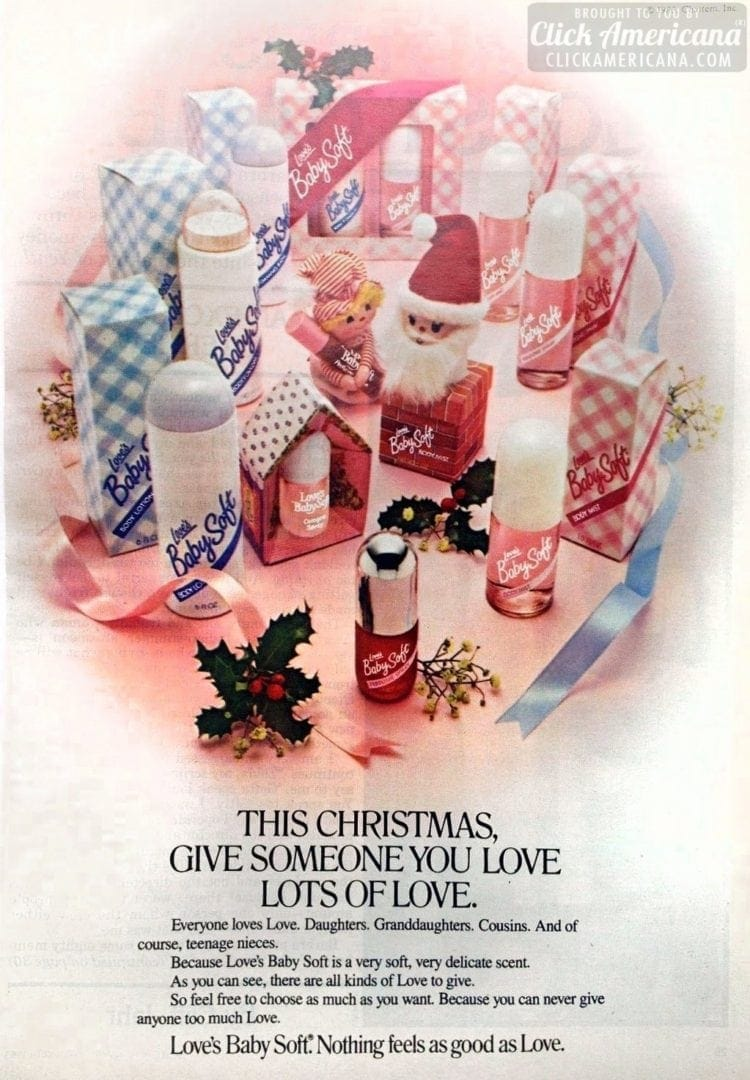 This Christmas, give someone you love lots of love (1983)