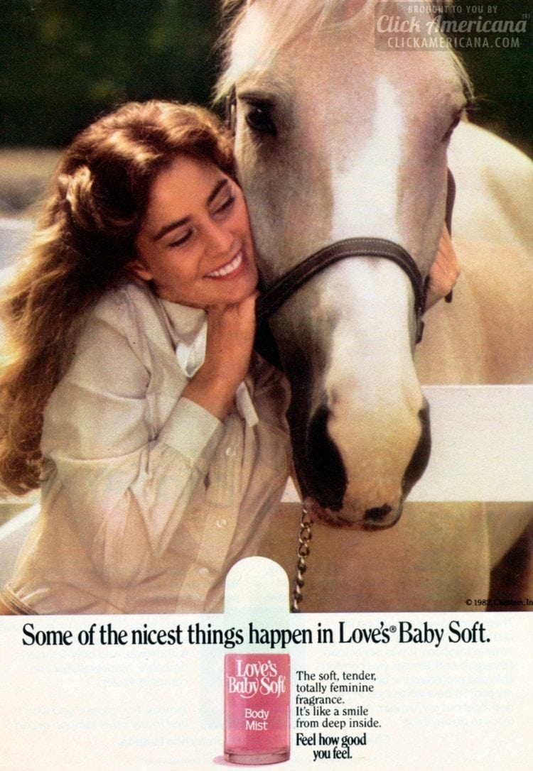Some of the nicest things happen in Love's Baby Soft (1981-1982)