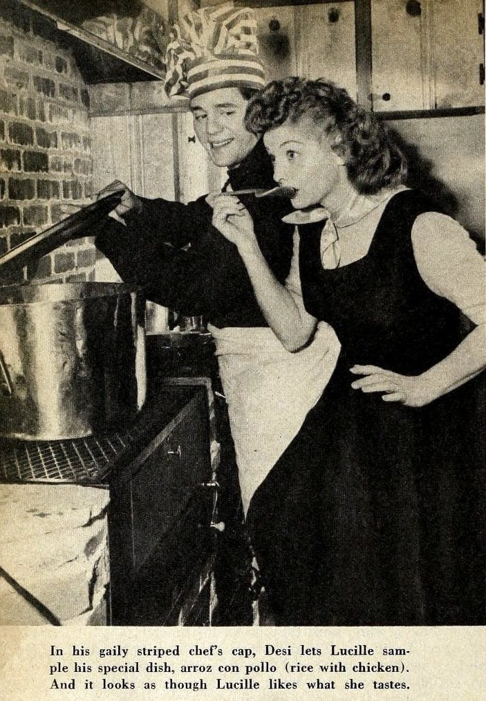 Lucille Ball - Radio and Television Mirror magazine (April 1950)