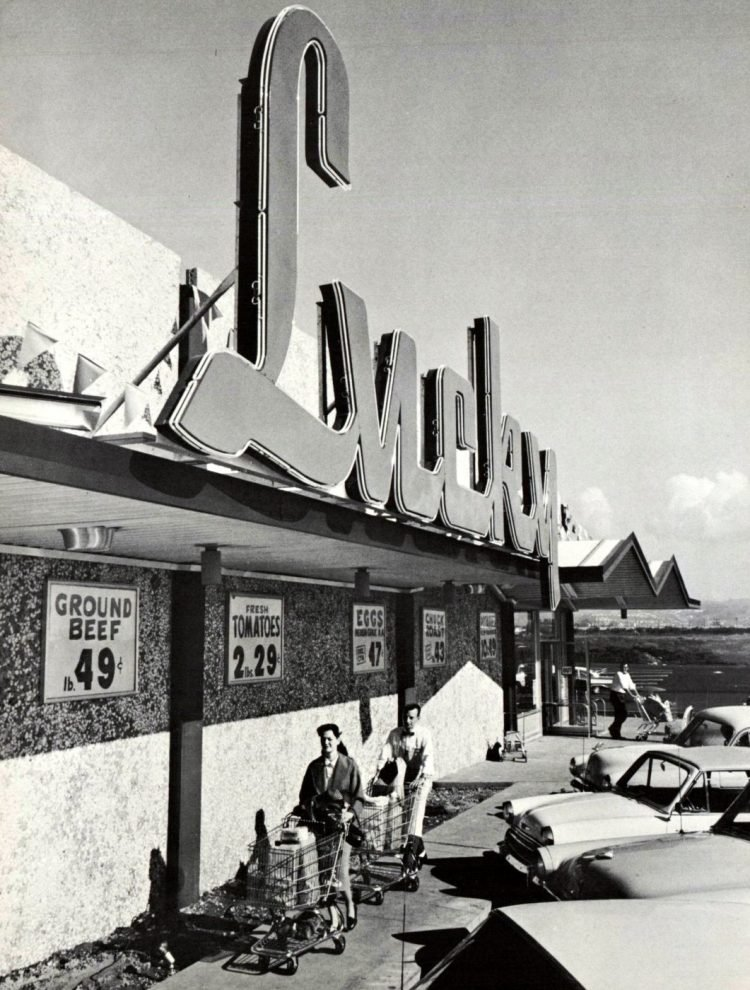 Lucky vintage grocery store - 1960 1