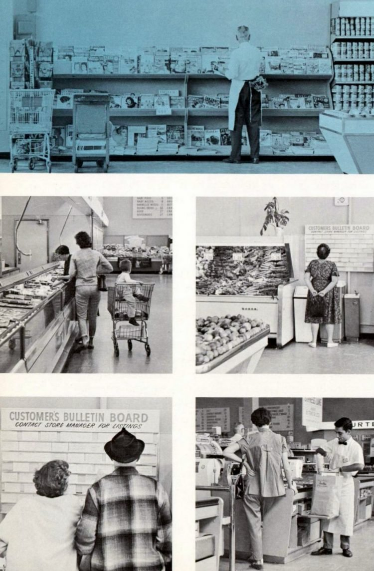 Lucky vintage grocery store - 1960 7